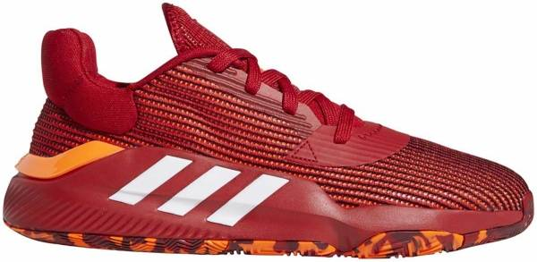 Adidas Pro Bounce 2019 Low - Red | White | Orange (EF0471)
