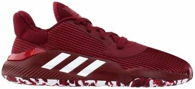Adidas Pro Bounce 2019 Low - Burgundy (EF9665)
