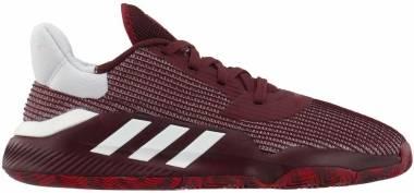 Adidas Pro Bounce 2019 Low - Burgundy,white (EF9671)