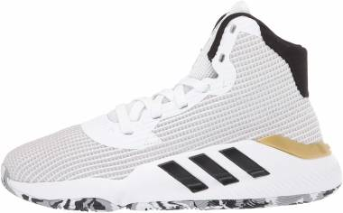 Adidas Pro Bounce 2019 - White/Black/Gold Metallic (EE3896)
