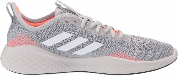 Adidas Fluidflow - Gray Two F17 Ftwr White Signal Coral (EG3667)