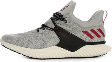 Adidas Alphabounce Beyond 2.0 - Light Grey Heather/Active Maroon/Black (G28829)