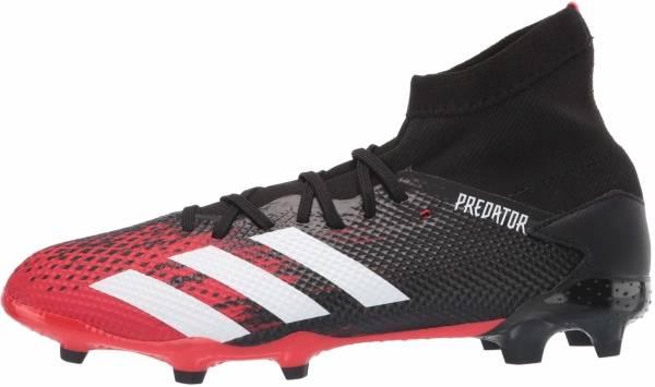 Adidas Predator 20.3 Firm Ground - Black,Red (EE9555)