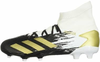 Adidas Predator 20.3 Firm Ground - Ftwr White Gold Met Core Black (FW9196)
