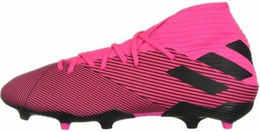 Adidas Nemeziz 19.3 Firm Ground - Pink Schwarz (F34388)