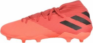 Adidas Nemeziz 19.3 Firm Ground - Coral/Black/Glory Red (EH0300)