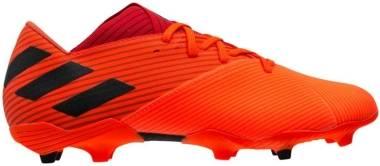 Adidas Nemeziz 19.2 Firm Ground - Coral/Black/Glory Red (EH0293)