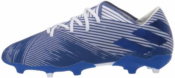Adidas Nemeziz 19.2 Firm Ground - Weiß;Blau (EG7222)