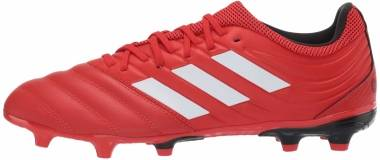 Adidas Copa 20.3 Firm Ground - Active Red Ftwr White Core Black (G28551)