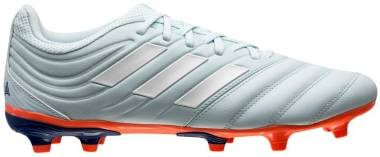 Adidas Copa 20.3 Firm Ground - Sky Tint Ftwr White Signal Coral (EH1501)