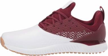 Adidas Adicross Bounce 2.0 - White/Collegiate Burgundy/Gum (F35410)