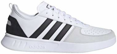 Adidas Court 80s - Cloud White / Core Black / Orbit Grey (FW2871)