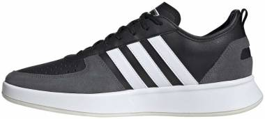 Adidas Court 80s - Core Black Ftwr White Grey Six (EE9664)