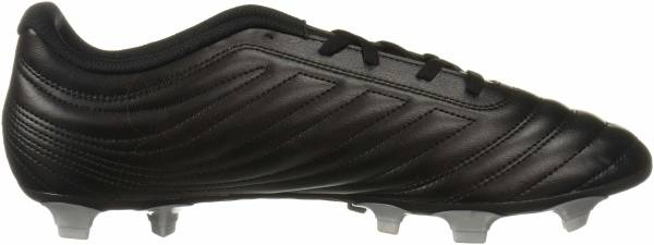 Adidas Copa 19.4 Firm Ground - Black/Hi-res Red/Silver Metallic (F35498)