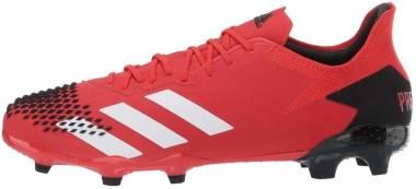 Adidas Predator 20.2 Firm Ground - Red (EE9553)