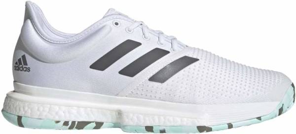 Adidas SoleCourt Parley - White (Q46509)