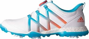 Adidas Adipower Boost BOA - Ftwr White Energy Blue Easy Coral (Q44746)