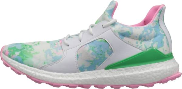 Adidas Climacross Boost - Ftwr White/Flash Lime Pink Glow S (Q44933)
