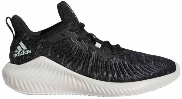 Adidas Alphabounce+ Run Parley - Core Black / Linen Green / Ftwr White (G28373)