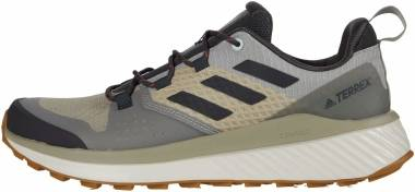 Adidas Terrex Folgian Hiker - Feather Grey/Solid Grey/Green Tint (EF0405)