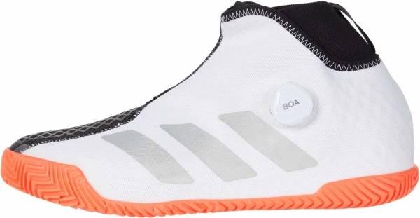 Adidas Stycon BOA - White/Silver Metallic/Solar Red (FU7933)