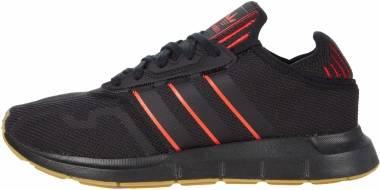 Adidas Swift Run X - Core Black/Core Black/Scarlet 1 (FY6234)