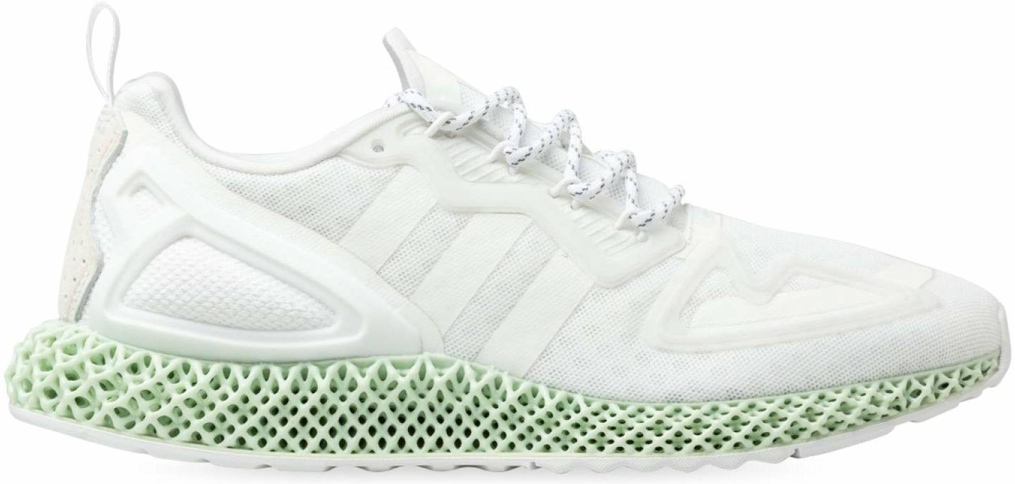 Adidas ZX 2K 4D sneakers in white (only $120) | RunRepeat