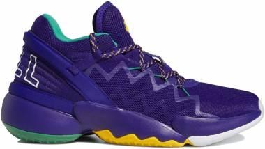 Adidas D.O.N. Issue #2 - Team Colleg Purple / Team Colleg Gold / Team Green (FV8959)