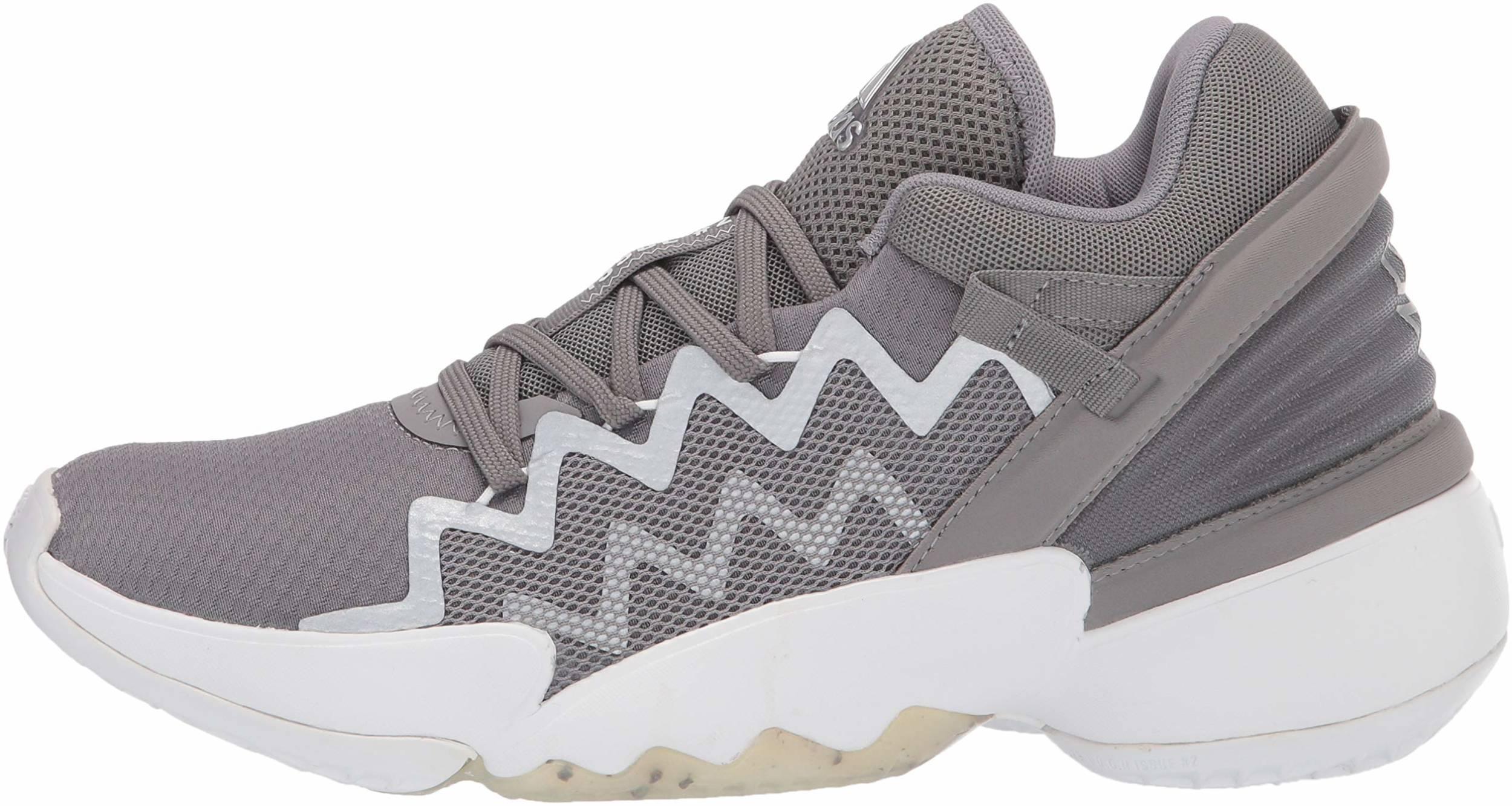 30 Grey Adidas basketball shoes - Save 25%   RunRepeat
