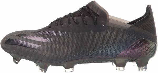 Adidas X Ghosted.1 Firm Ground - Black/Black/Black (FW6895)
