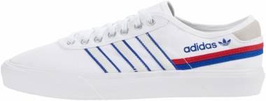 Adidas Delpala - Ftwr White / Scarlet / Team Royal Blue (FV0639)
