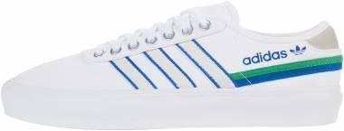 Adidas Delpala - White/Vivid Green/White (FY7479)
