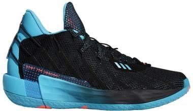 Adidas Dame 7 - Black/Pink/Signal Cyan (G57902)