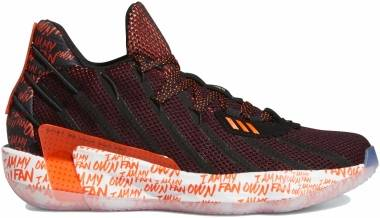 Adidas Dame 7 - Black/Solar Red/Footwear White (G55194)