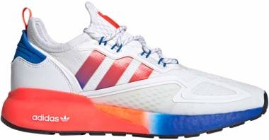 Adidas ZX 2K Boost - Cloud White / Solar Red / Blue (FV9996)