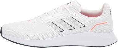 Adidas Runfalcon 2.0 - Ftwr White / Silver Met. / Solar Red (FY5944)