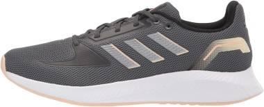 Adidas Runfalcon 2.0 - Grey Six / Iron Metalic / Solar Red (H04519)