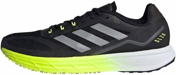 Adidas SL20.2 - Core Black / Core Black / Solar Yellow (FW9156)