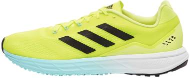 Adidas SL20.2 - Hi-Res Yellow / Crew Navy / Clear Aqua (FW9297)