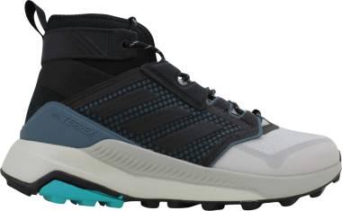 Adidas Terrex Trailmaker Mid - Grey Two/Black/Hi-res Aqua (FU7235)