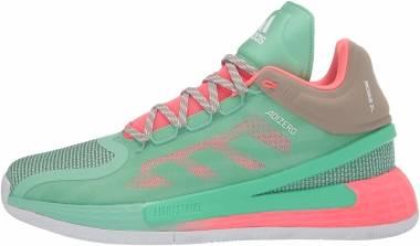 Adidas D Rose 11 - Prism Mint/Red Zest/Beige (FZ1274)