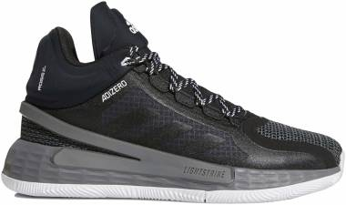 Adidas D Rose 11 - Black/Scarlet/Grey (FU7404)