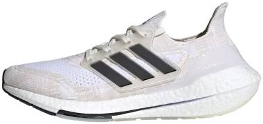 Adidas Ultraboost 21 - Non-Dyed / Core Black / Night Flash (FY0837)