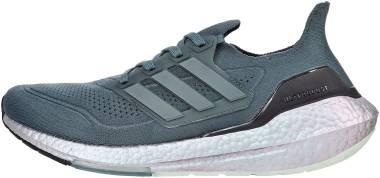 Adidas Ultraboost 21 - Blue Oxide/Blue Oxide/Hazy Green (FY0384)