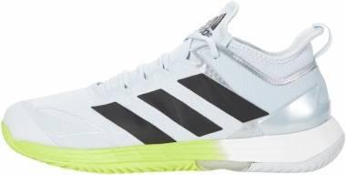 Adidas Adizero Ubersonic 4 - White/Black/Halo Blue (FX1364)
