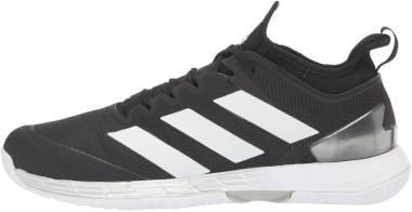 Adidas Adizero Ubersonic 4 - Black/White/Silver Metallic (FZ4881)