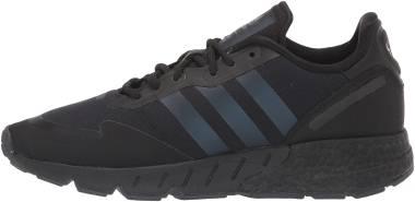 Adidas ZX 1K Boost - Core Black / Black Blue Metallic / Core Black (H05335)