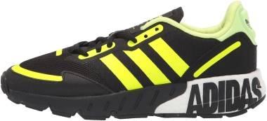 Adidas ZX 1K Boost - Black/Solar Yellow/Matte Silver (FY3632)