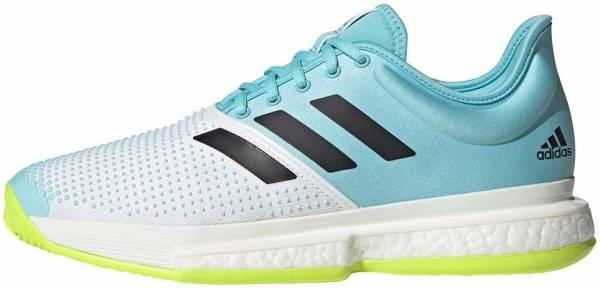 Adidas SoleCourt Primeblue - Ftwbla Negbás Amasol (FX1729)