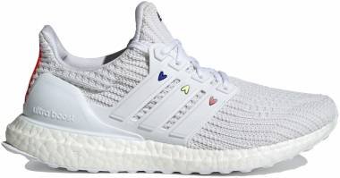 Adidas Ultraboost 4.0 DNA - Footwear White/Chalk White/Solar Red (GZ9232)